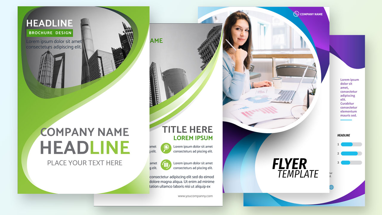 1 High Quality Flyer Design Services