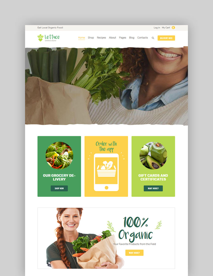15 Best Wordpress Themes For Organic And Eco Friendly Websites